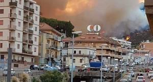 Incendi a Messina, rispetto per Vigili del fuoco e cittadini!