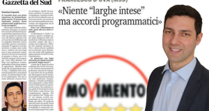 """A Messina M5S in forte crescita. No alle larghe intese!"""