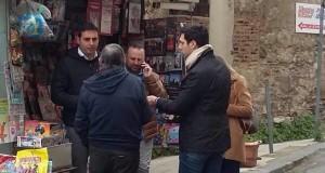 A Messina, tra la gente, con entusiasmo e passione!