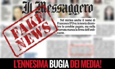 Il Messaggero mette in discussione la mia onestà: l'ennesima FAKE NEWS