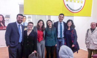 Entusiasmo per l'inaugurazione del comitato M5S di Messina