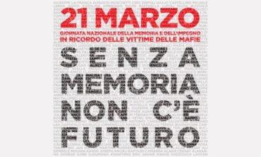21 Marzo – Giornata nazionale della memoria e dell'impegno in ricordo delle vittime delle mafie