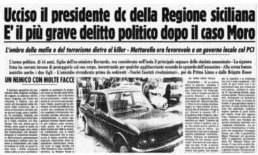 L'omicidio mafioso di Piersanti Mattarella è una ferita nella storia della Repubblica Italiana