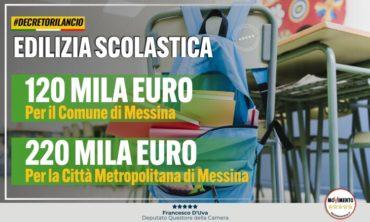 Scuola, M5S: 340 mila euro a Messina e provincia per la ripartenza in sicurezza