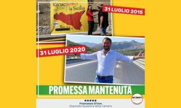 Viadotto Himera, promessa mantenuta