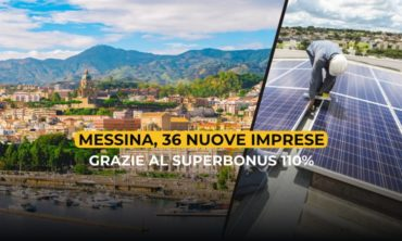 Messina, 36 nuove imprese grazie al Superbonus 110%