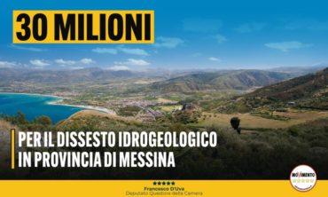 30 milioni per il Dissesto Idrogeologico di Messina