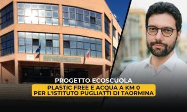 Progetto EcoScuola: Plastic free e acqua a km 0 per l'Istituto Pugliatti di Taormina