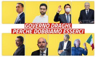 Governo Draghi, perchè dobbiamo esserci
