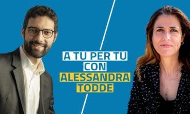 A tu per tu con Alessandra Todde