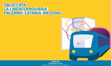 Sbloccata la linea ferroviaria Palermo-Catania-Messina