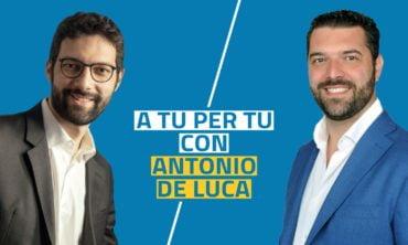 A tu per tu con Antonio De Luca