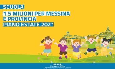 In arrivo 1,5 milioni per le scuole di Messina e provincia