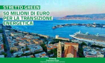 Transizione energetica: 50 milioni di euro per l'area dello Stretto di Messina