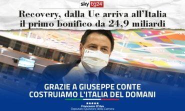 PNRR: arrivata anche in Italia la prima quota di risorse