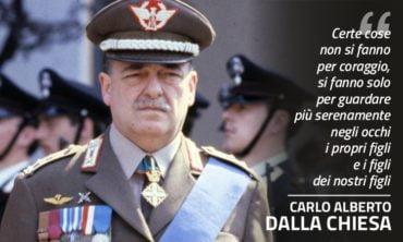Mafia: 39 anni fa l'attentato al Generale dalla Chiesa